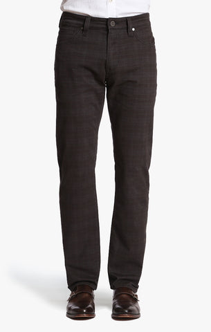 Courage Straight Leg In Charcoal Plaid