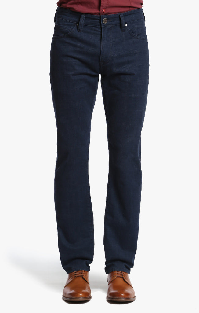 Courage Straight Leg In Navy Plaid - 34 Heritage