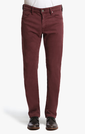 Courage Straight Leg In Bordeaux Twill - 34 Heritage