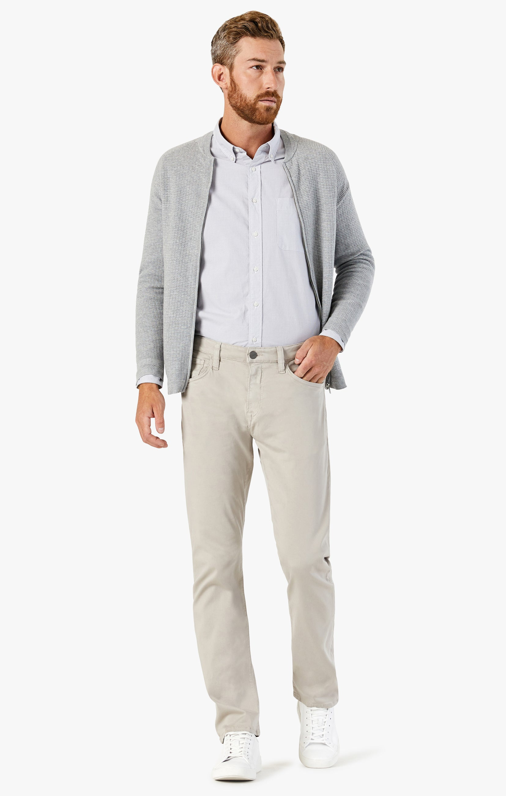 Courage Straight Leg Pants In Dawn Twill Image 2