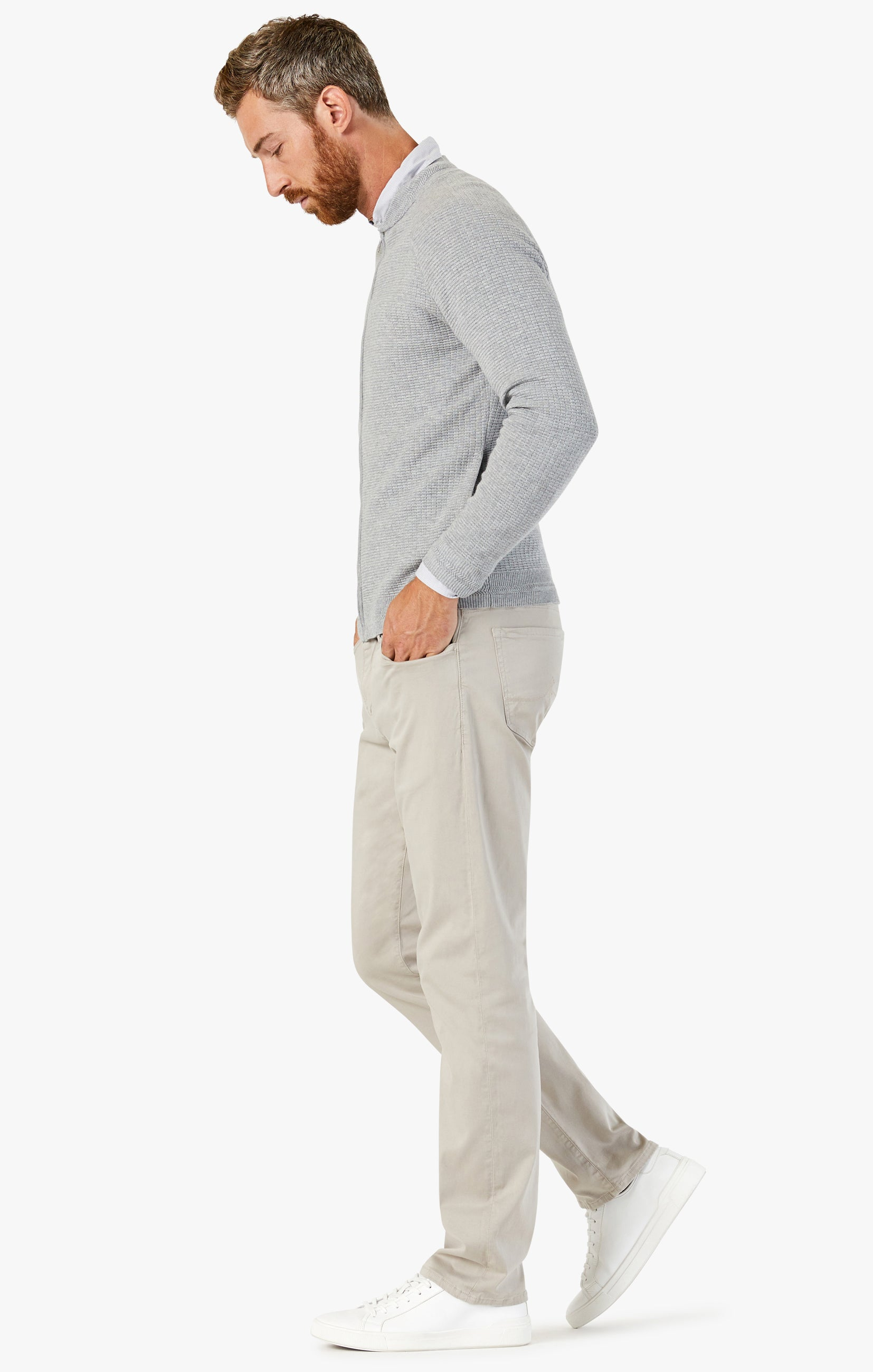 Courage Straight Leg Pants In Dawn Twill Image 3