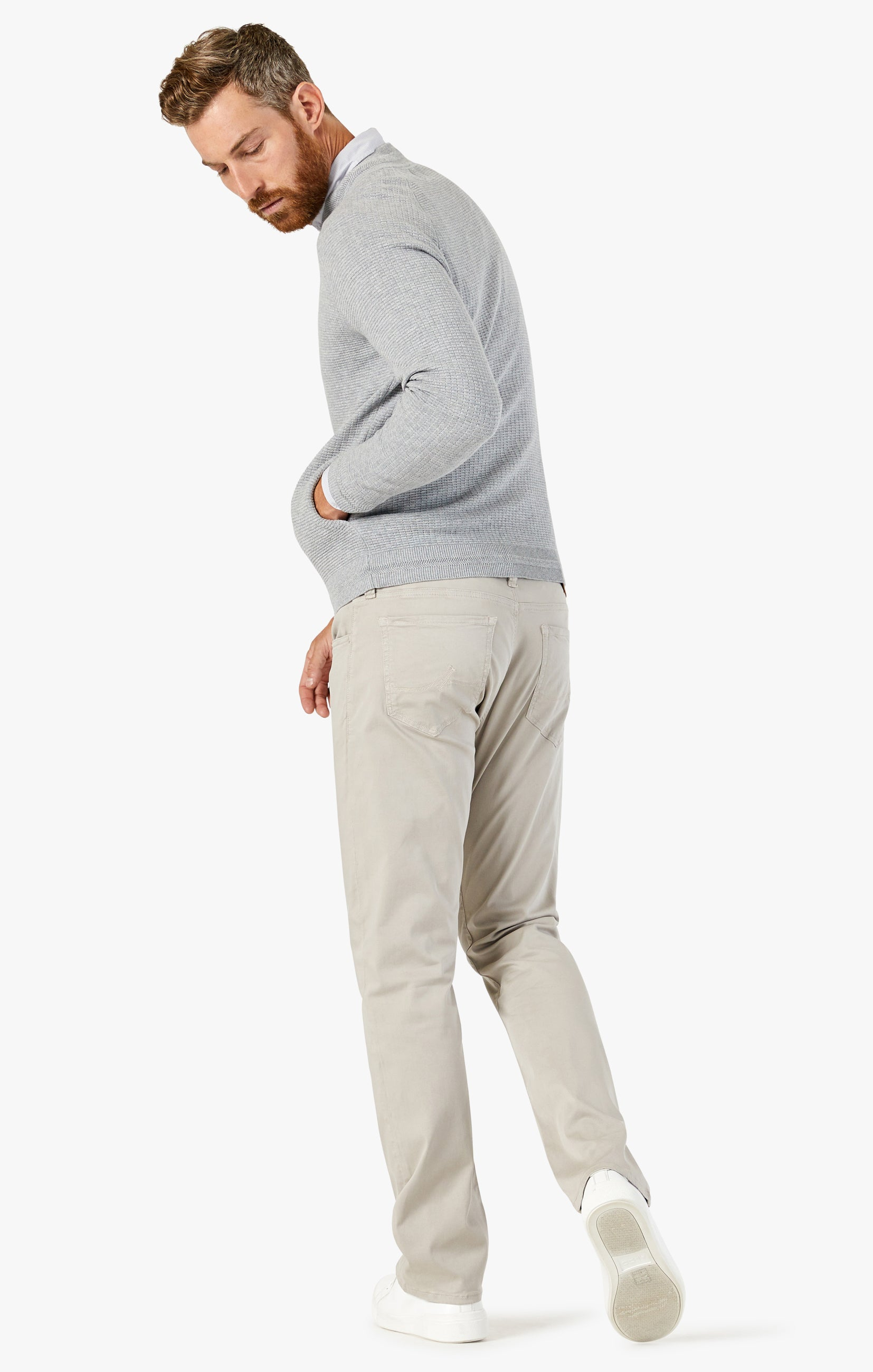 Courage Straight Leg Pants In Dawn Twill Image 4