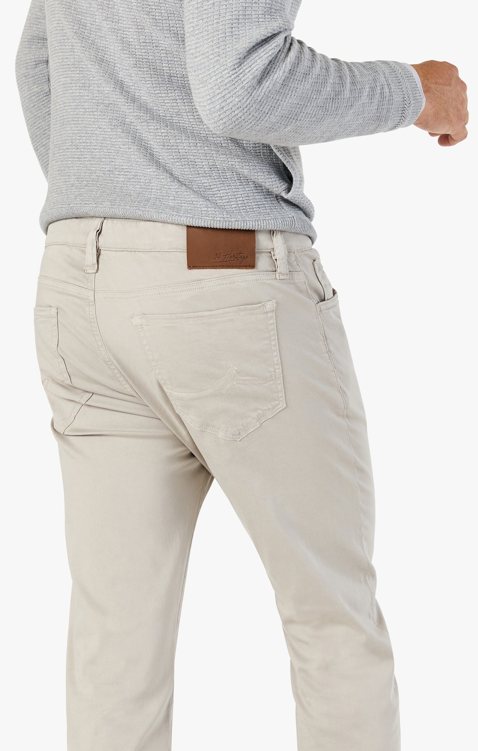 Courage Straight Leg Pants In Dawn Twill Image 5