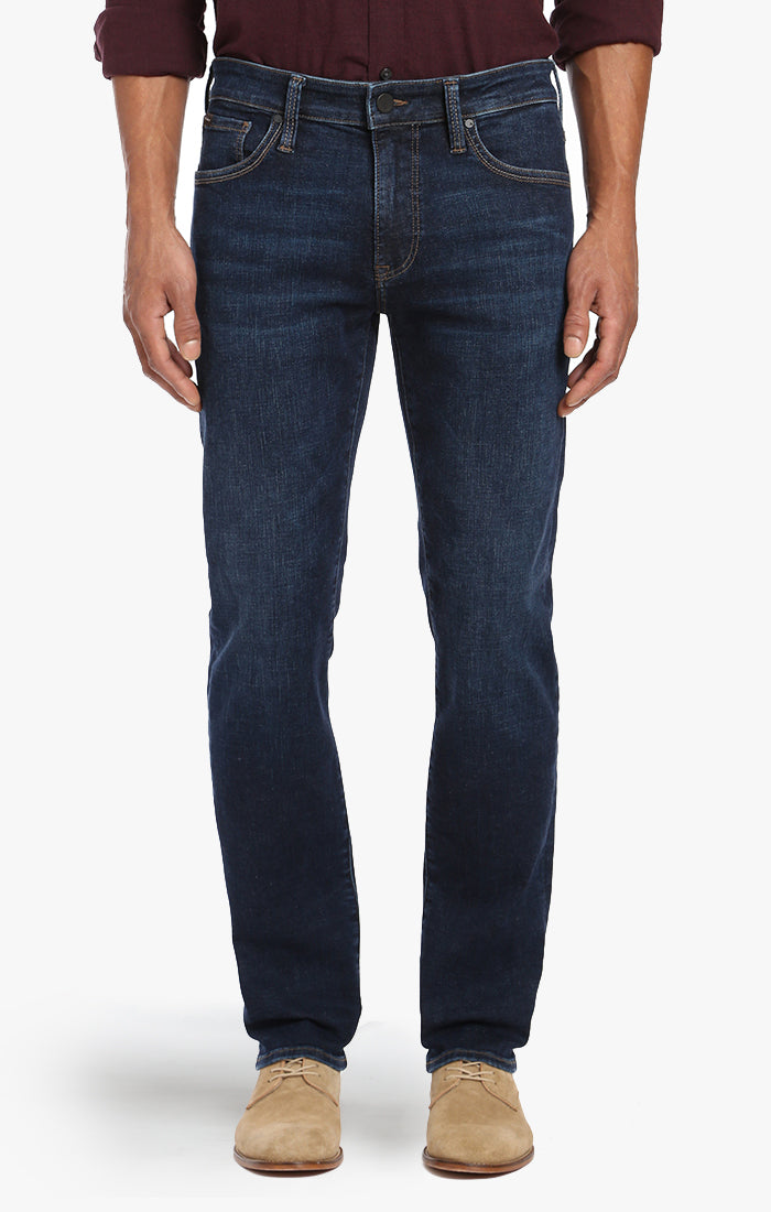 Courage Straight Leg In Deep Indigo Cashmere - 34 Heritage