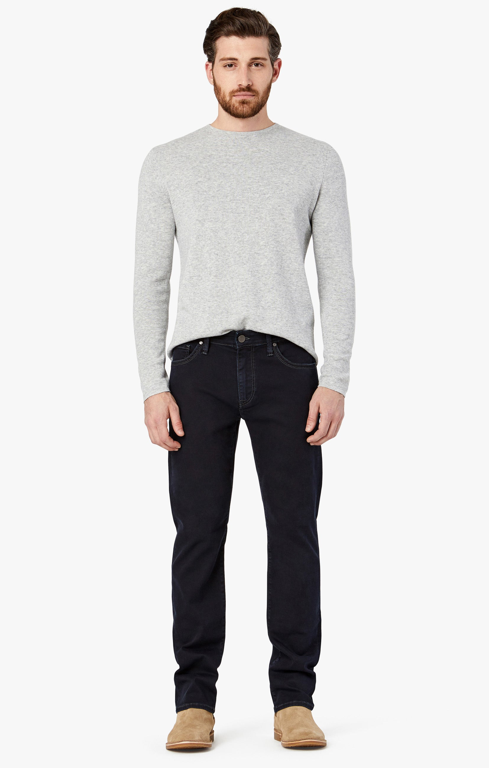 Courage Straight Leg Jeans in Rinse Austin Image 3