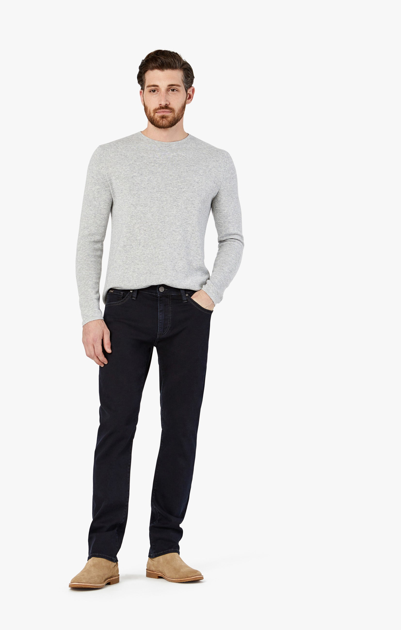 Courage Straight Leg Jeans in Rinse Austin Image 6
