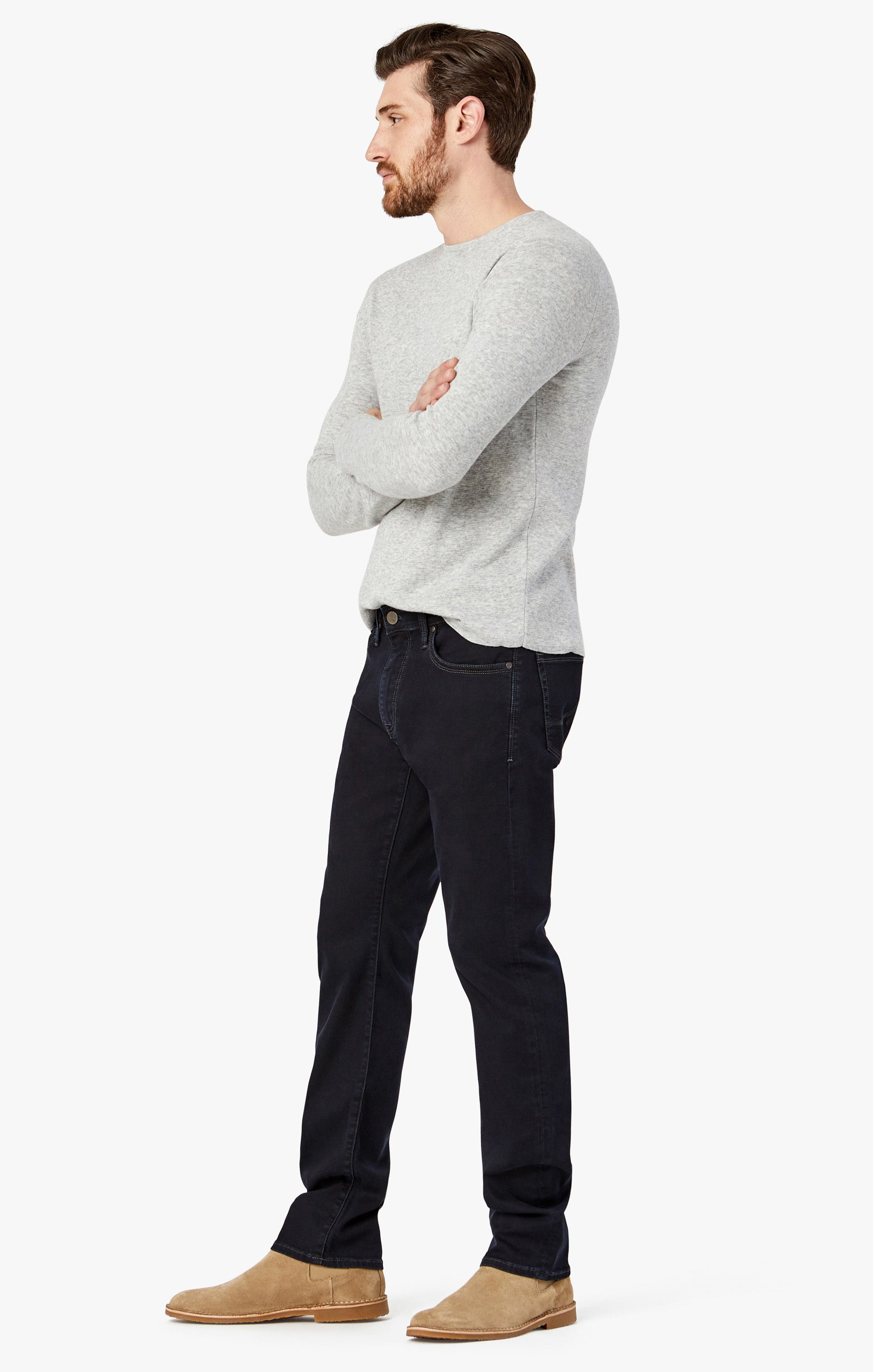 Courage Straight Leg Jeans in Rinse Austin Image 2