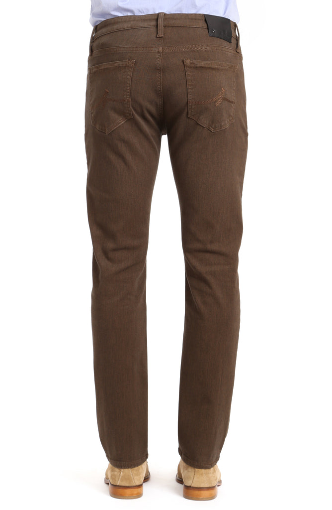 Courage Straight Leg In Brown Diagonal - 34 Heritage