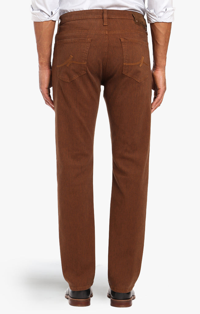 Courage Straight Leg In Rust Diagonal - 34 Heritage
