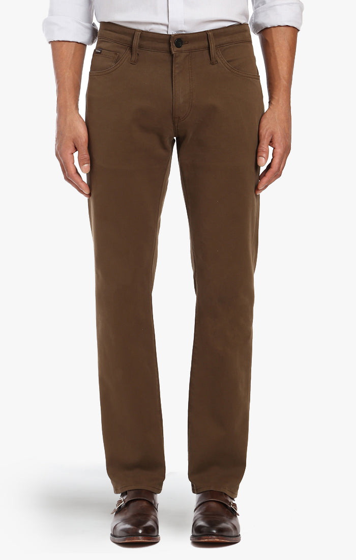 Courage Straight Leg In Brown Fine Twill