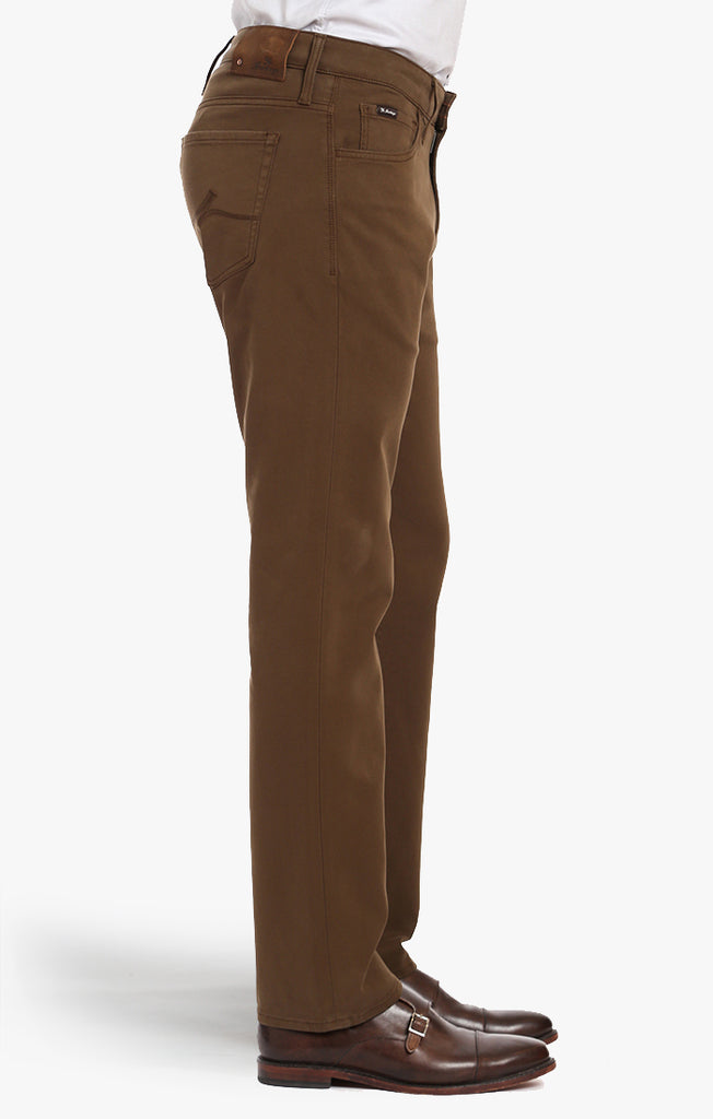Courage Straight Leg In Brown Fine Twill - 34 Heritage