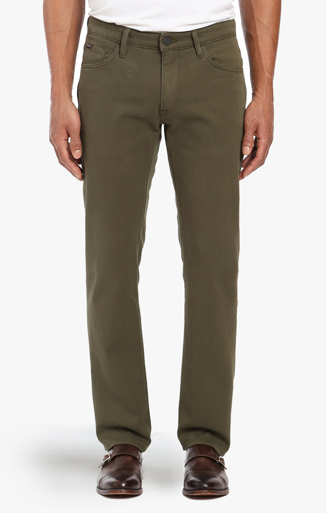 Courage Straight Leg In Green Fine Twill - 34 Heritage