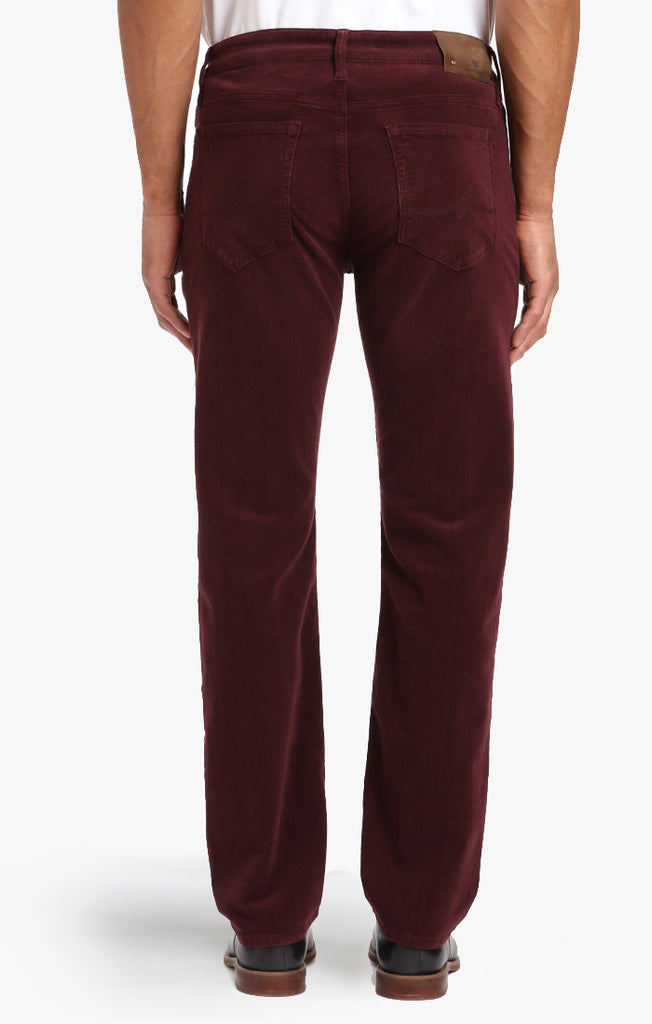 Courage Straight Leg In Burgundy Cord - 34 Heritage