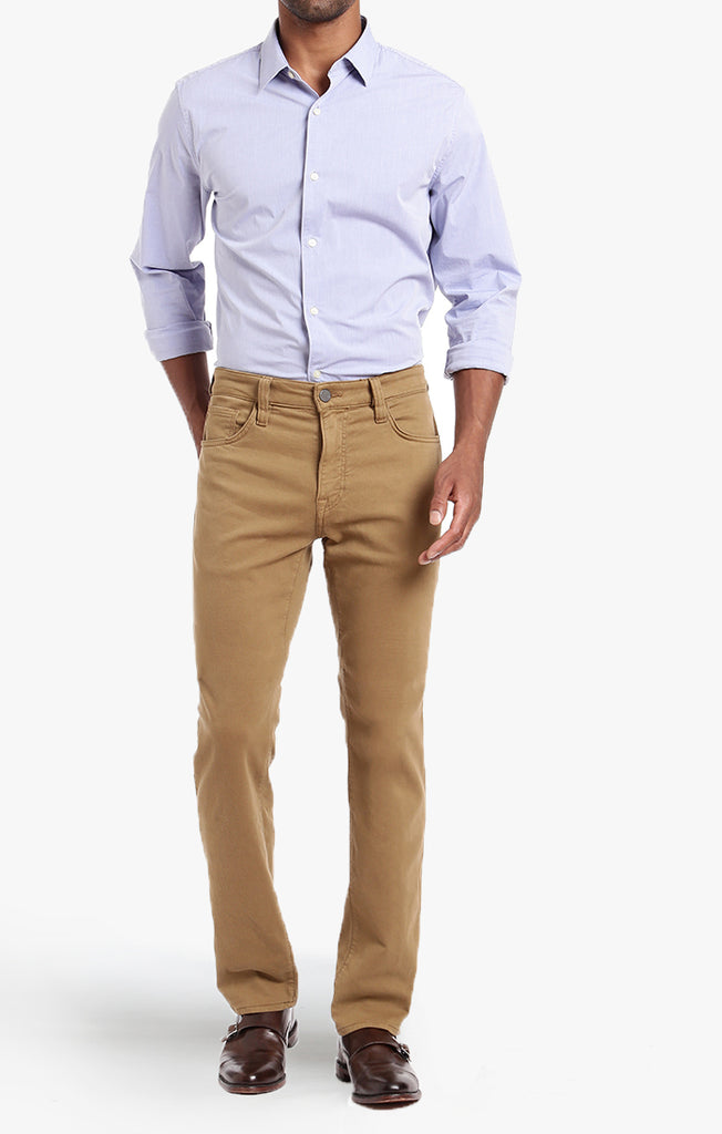 Courage Straight Leg Brown Washed Luxe - 34 Heritage