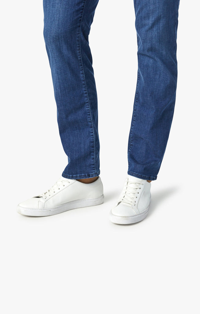 Courage Straight Leg Jeans In Mid Kona