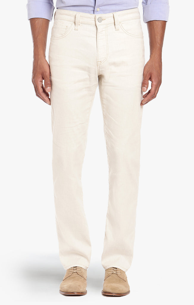 Courage Straight Leg In Bone Linen Denim