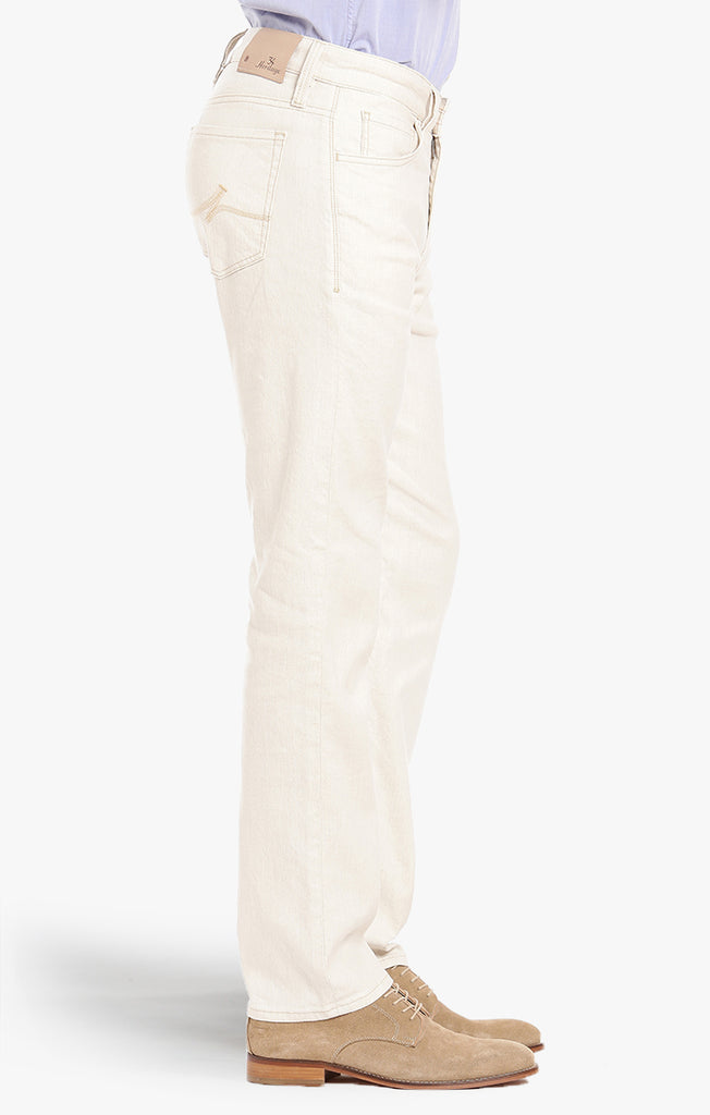 Courage Straight Leg In Bone Linen Denim - 34 Heritage