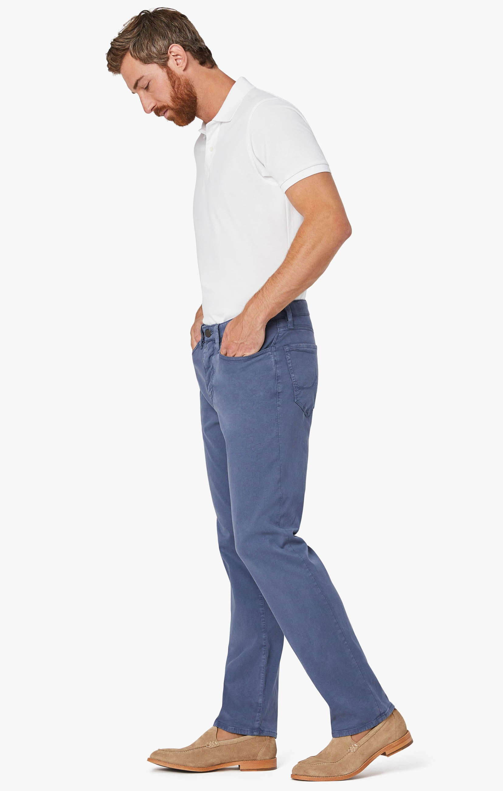 Courage Straight Leg Pants In Horizon Soft Touch Image 3