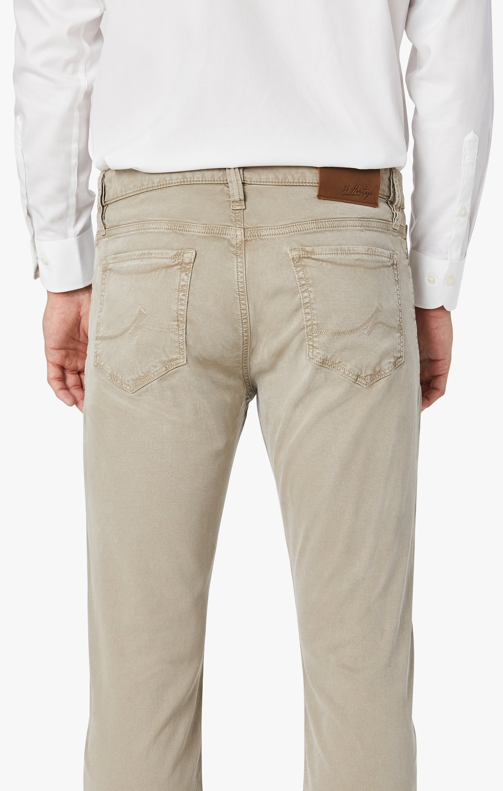 Courage Straight Leg Pants In Mushroom Soft Touch Image 4