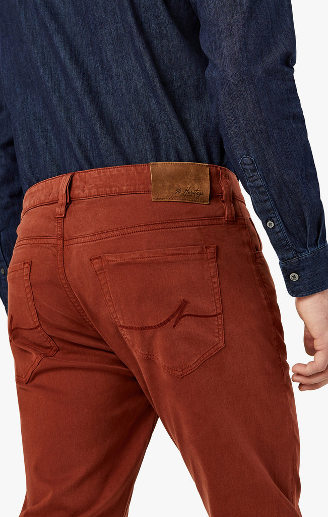 Courage Straight Leg in Rust Twill - 34 Heritage