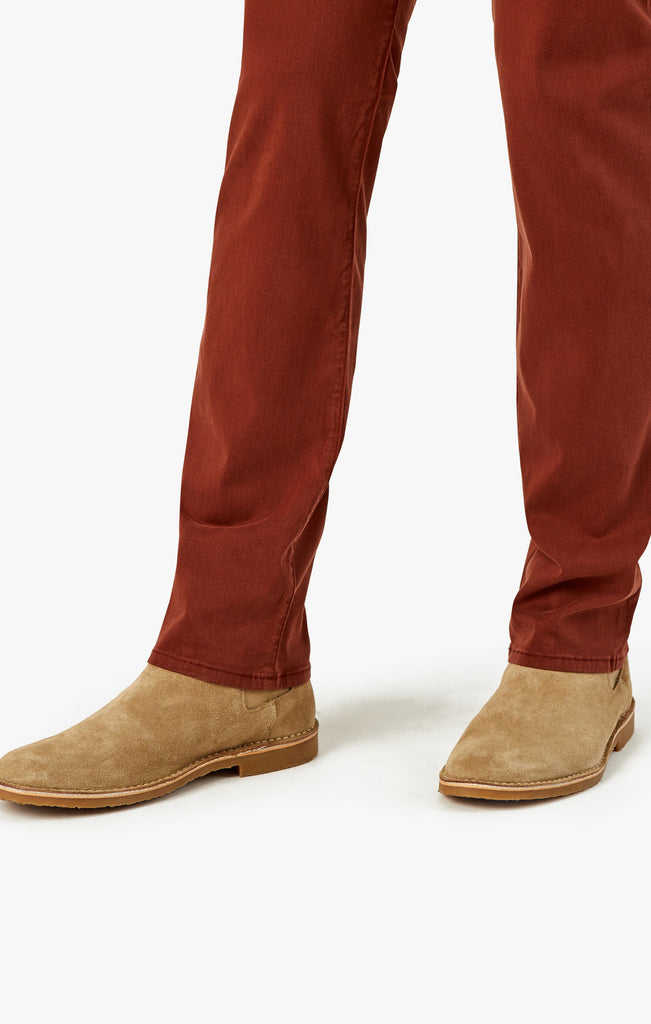 Courage Straight Leg in Rust Twill