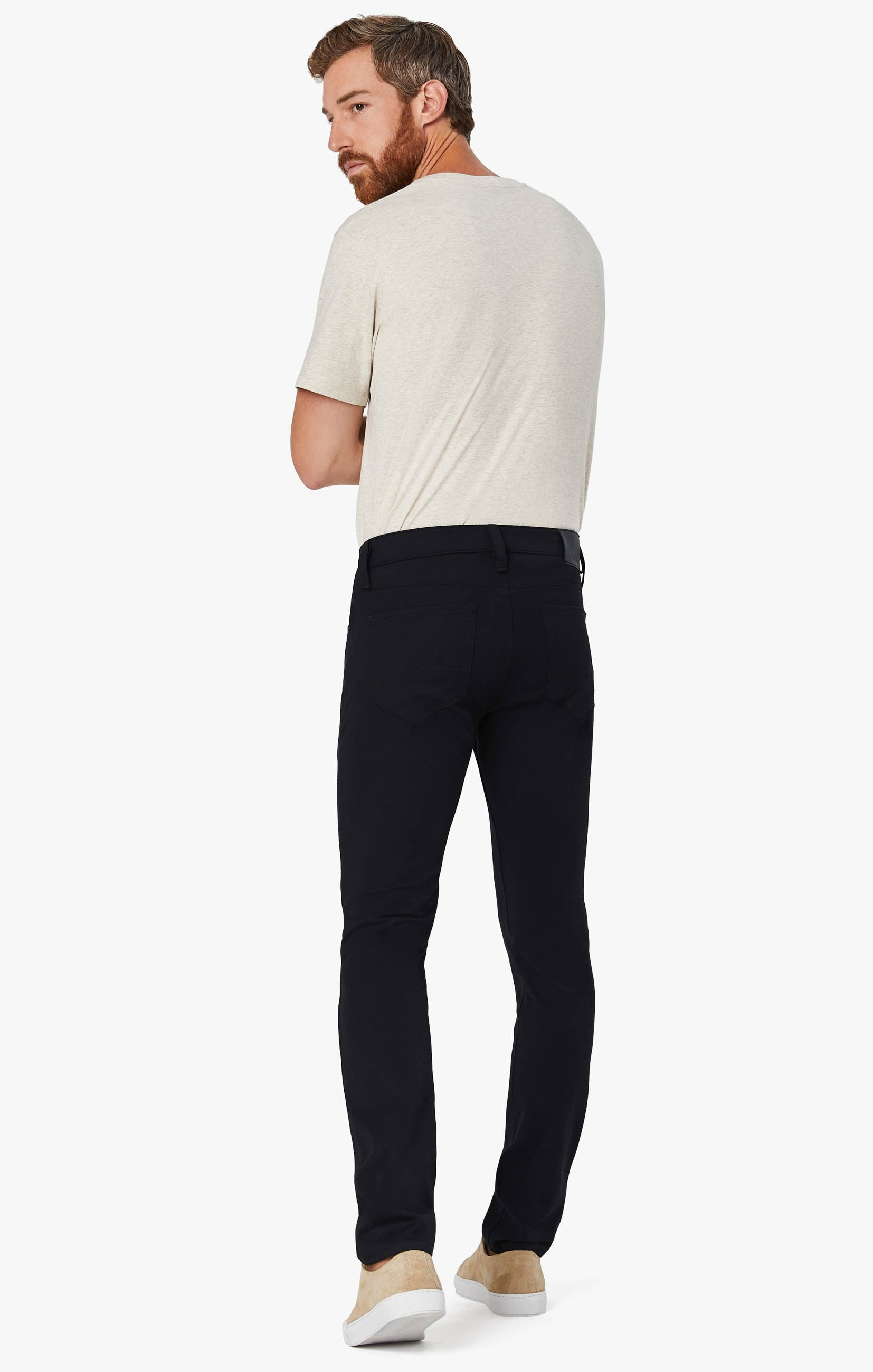Courage Straight Leg Pants in Navy Winter Cashmere Image 3