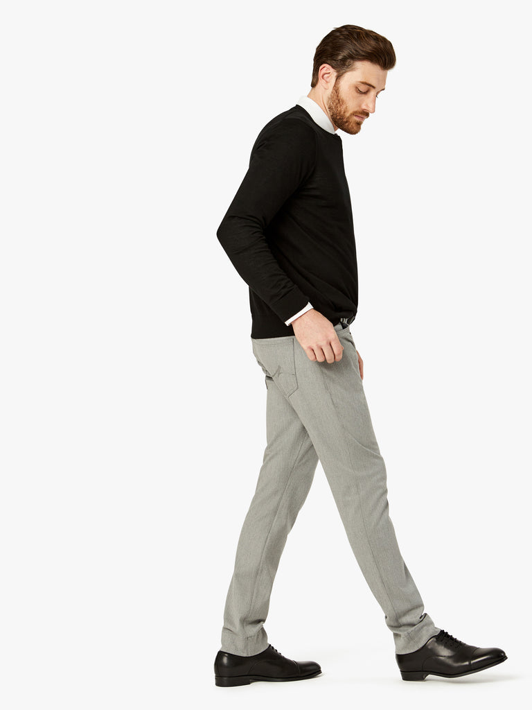 Courage Straight Leg in Grey Winter Cashmere - 34 Heritage