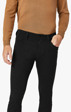Courage Straight Leg Pants in Charcoal Winter Cashmere
