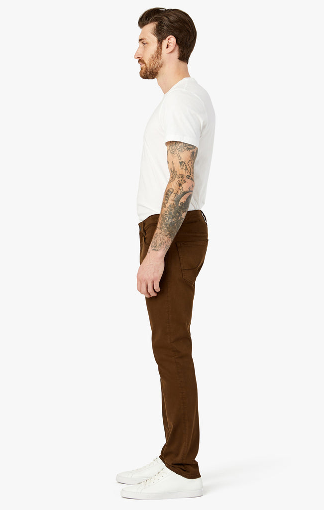 Courage Straight Leg in Brown Comfort - 34 Heritage