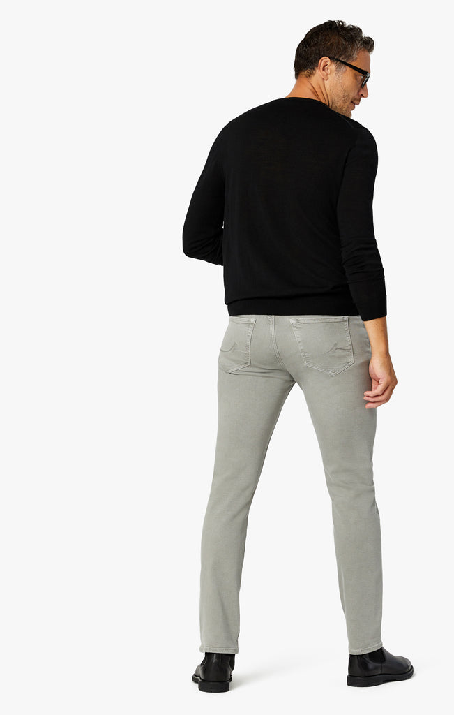 Courage Straight Leg Pants In Light Grey Comfort