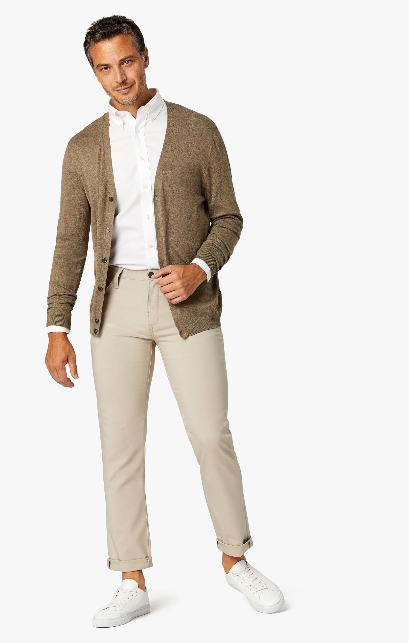Courage Straight Leg Commuter Pants In Desert Image 1