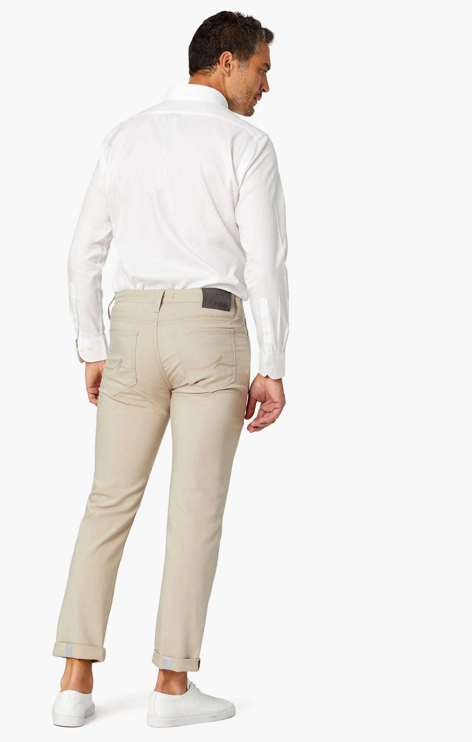 Courage Straight Leg Commuter Pants In Desert Image 3
