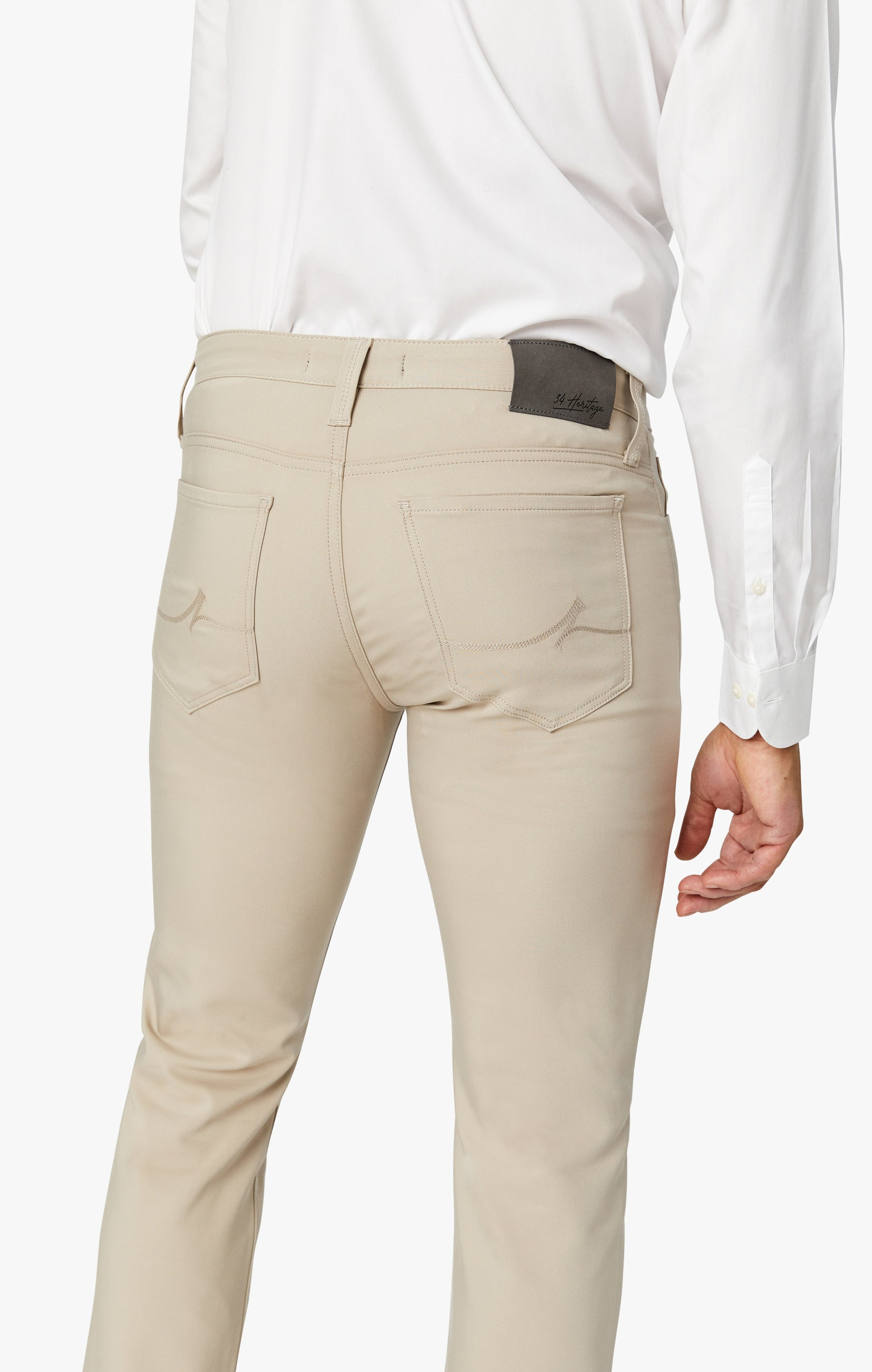 Courage Straight Leg Commuter Pants In Desert Image 4