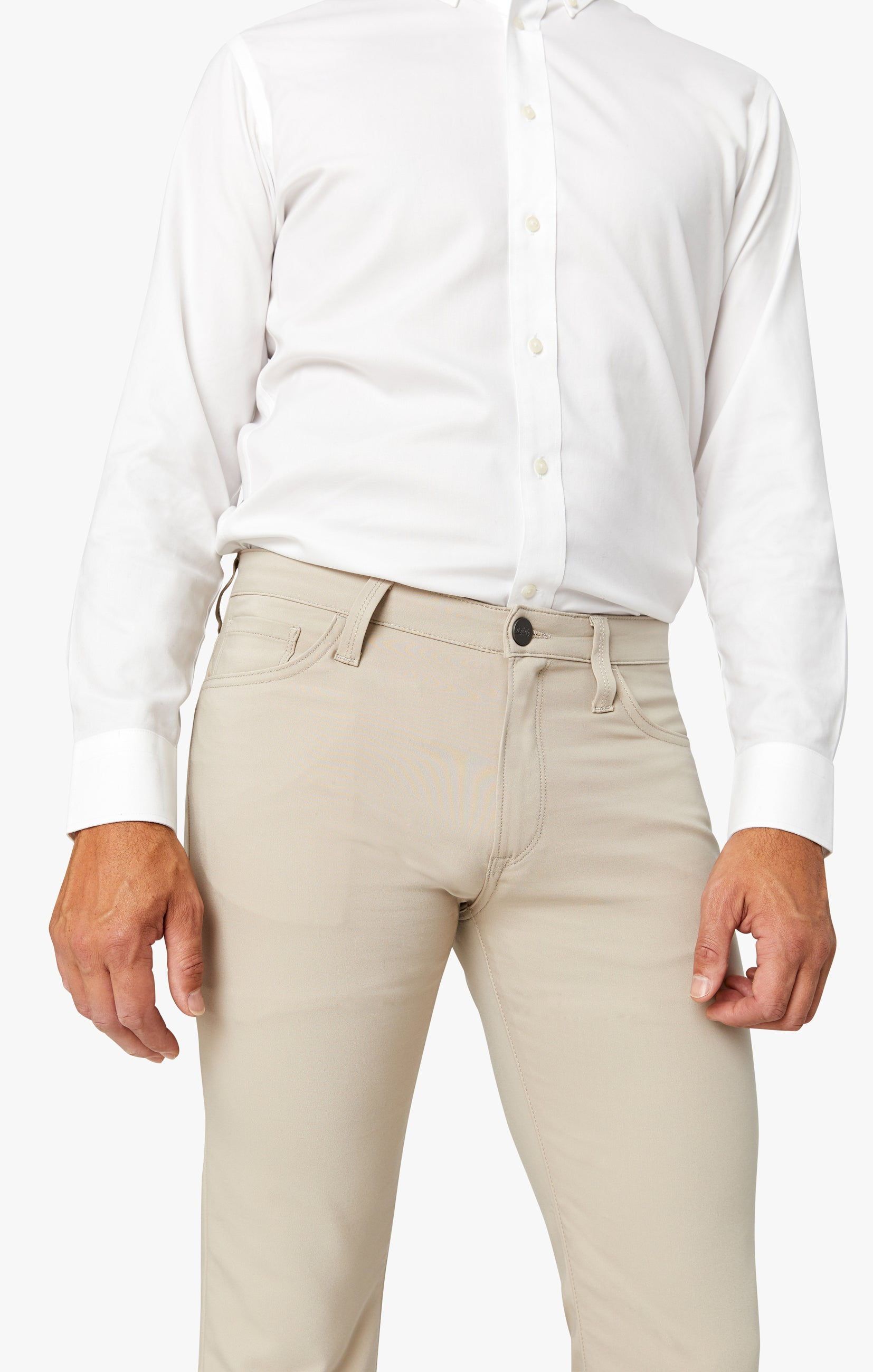Courage Straight Leg Commuter Pants In Desert Image 5