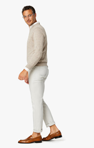 Courage Straight Leg Commuter Pants In Pearl