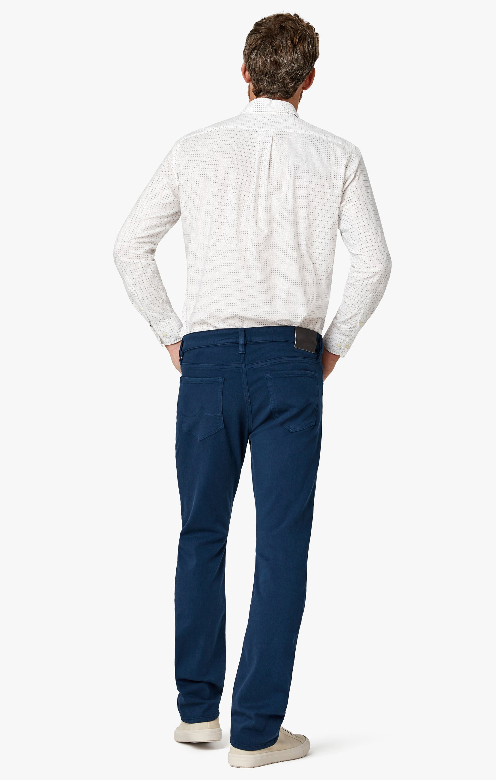 Courage Straight Leg Pants In Petrol Comfort Image 5