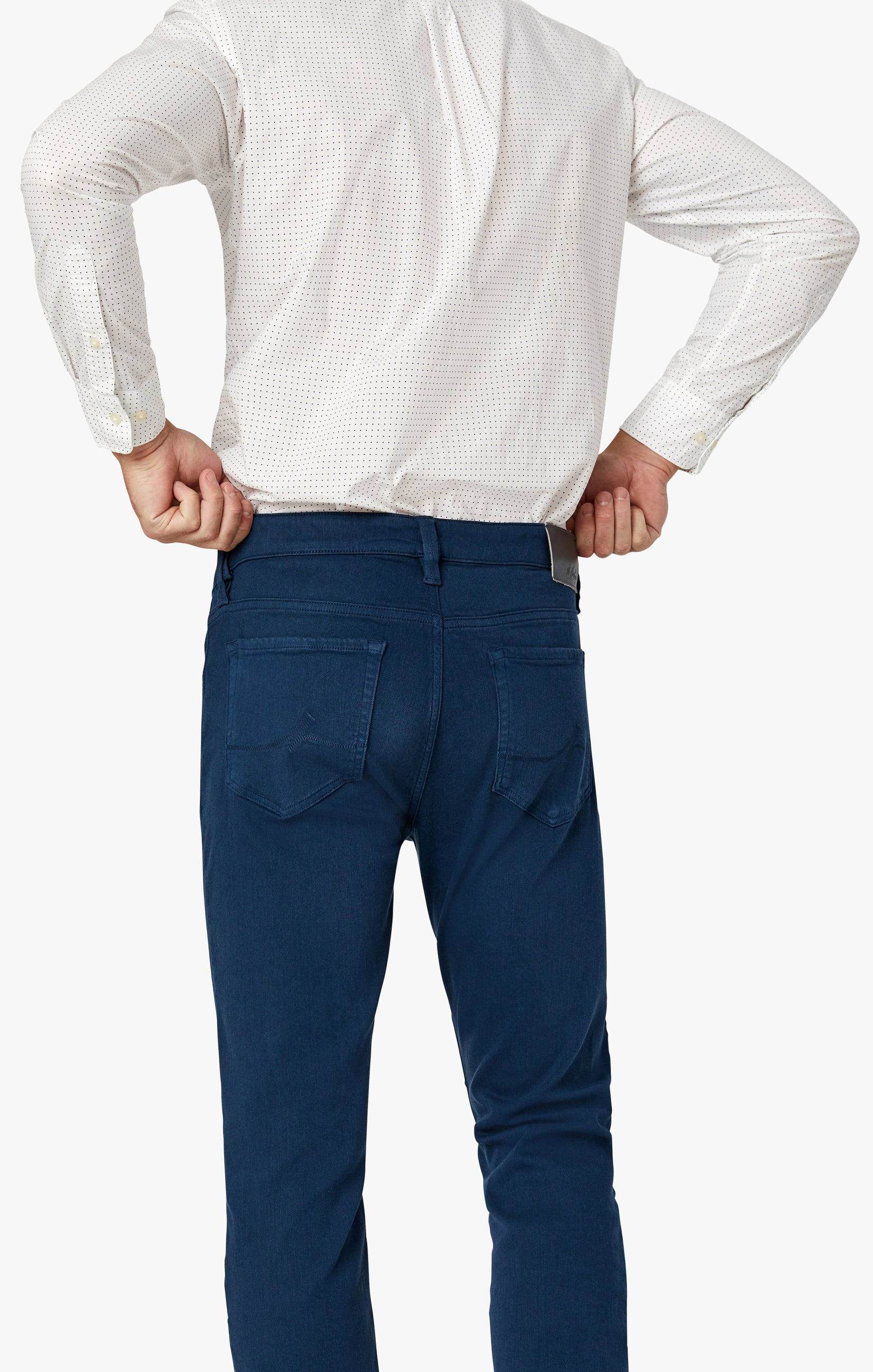 Courage Straight Leg Pants In Petrol Comfort Image 7