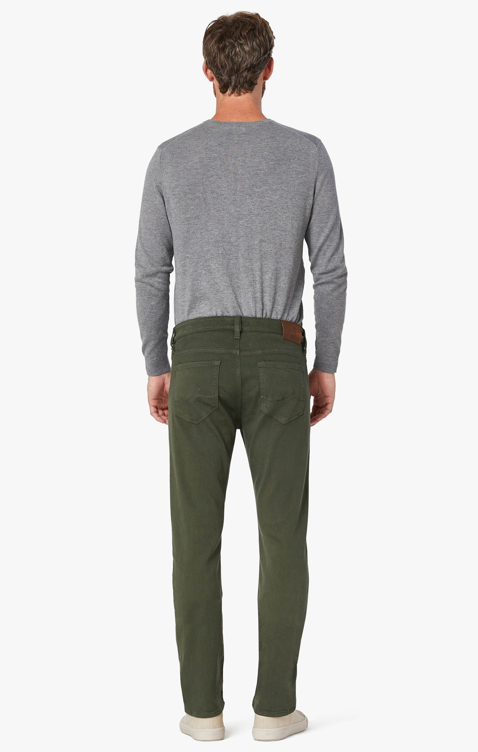 Courage Straight Leg Pants In Military Green Comfort Image 10