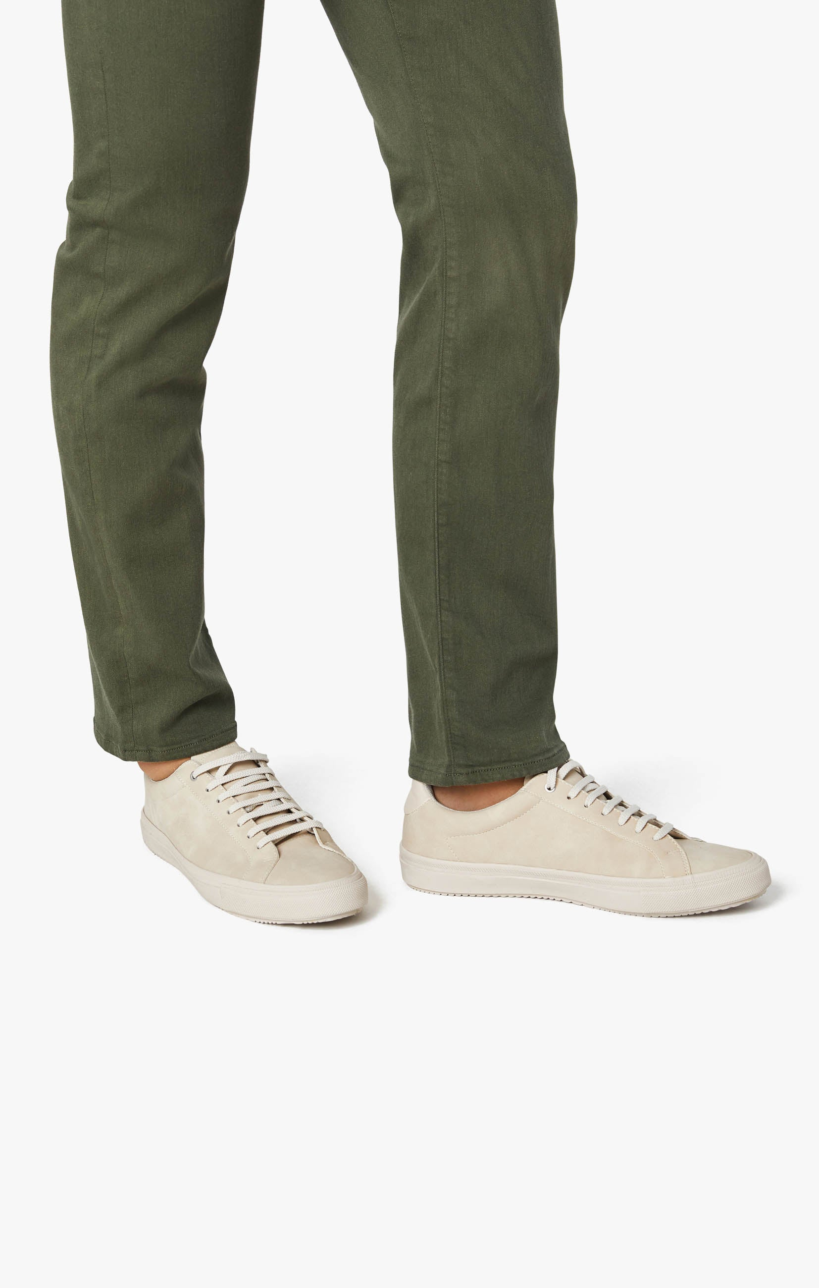 Courage Straight Leg Pants In Military Green Comfort Image 5