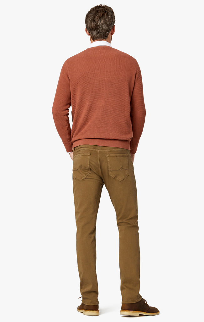 Courage Straight Leg Pants In Tobacco Comfort