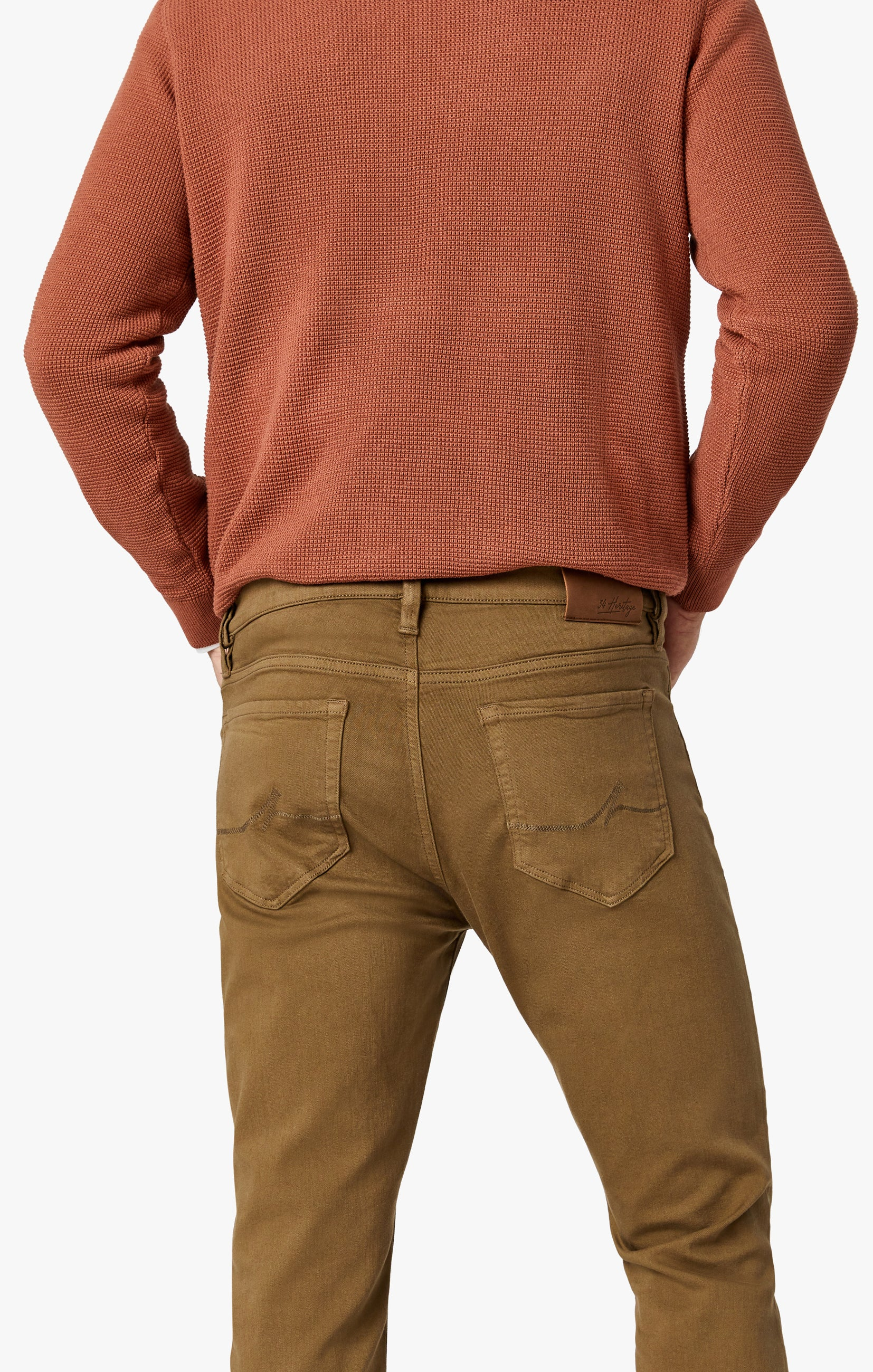 Courage Straight Leg Pants In Tobacco Comfort Image 6