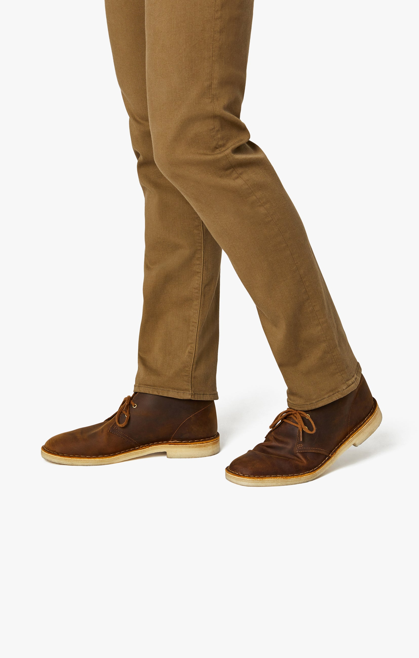 Courage Straight Leg Pants In Tobacco Comfort Image 7
