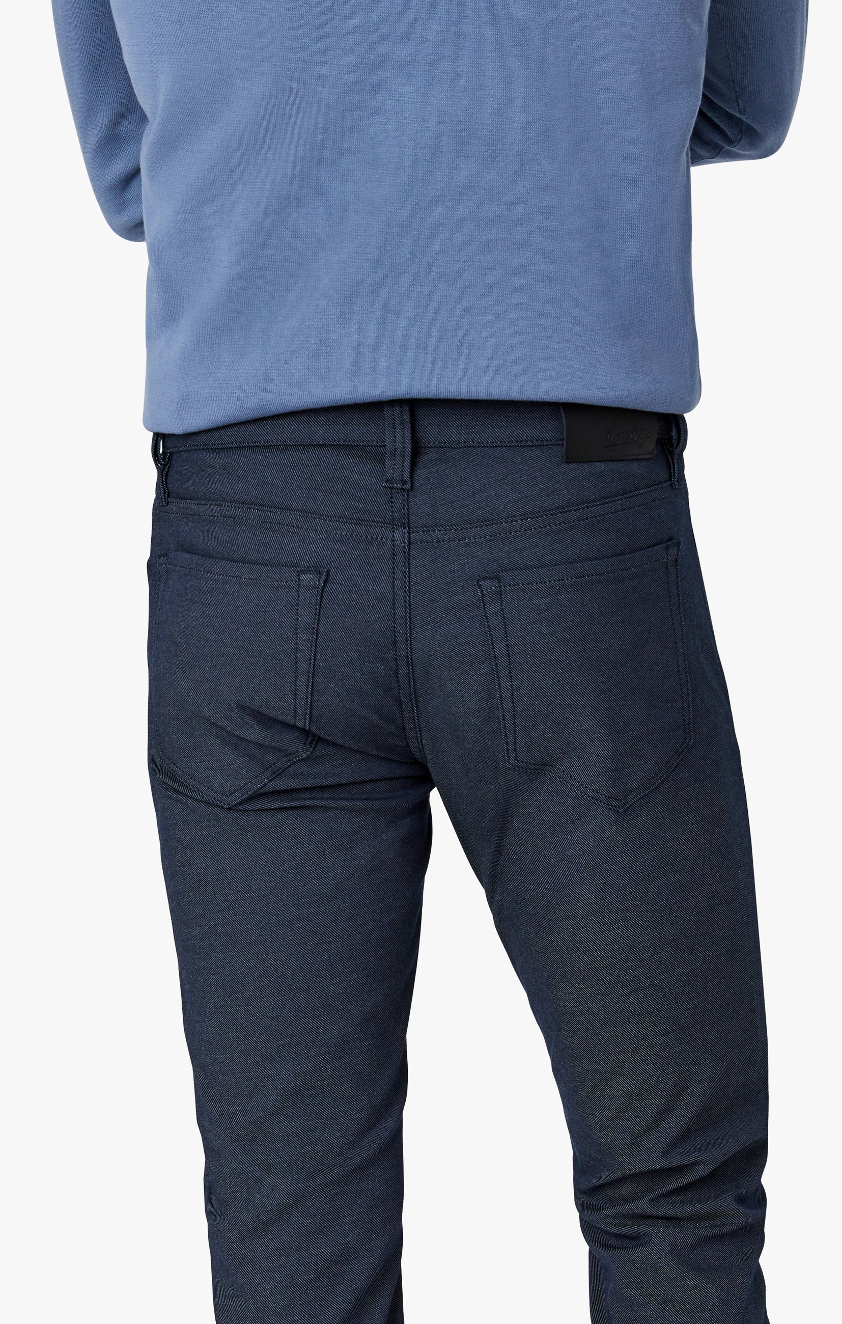 Courage Straight Leg Pants in Navy Coolmax Image 3