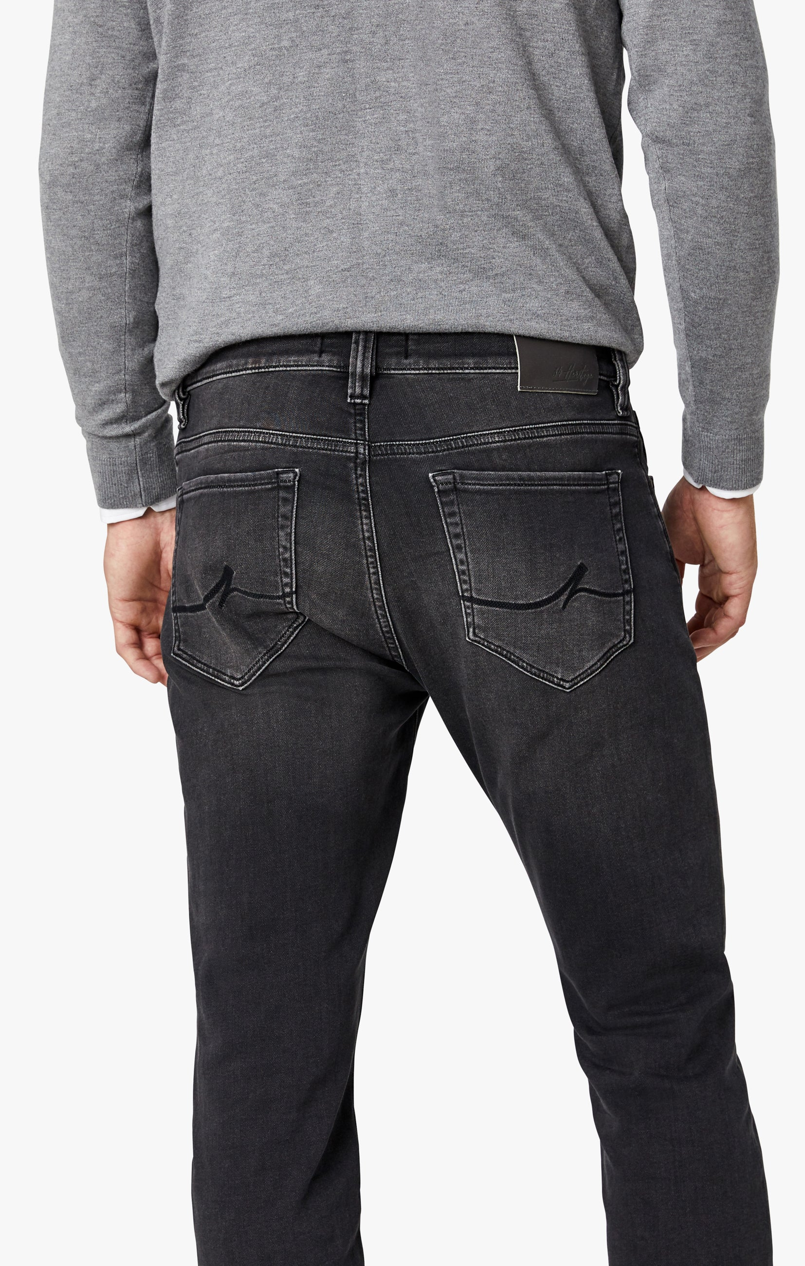 Courage Straight Leg Jeans in Mid Smoke Smart Casual Image 6
