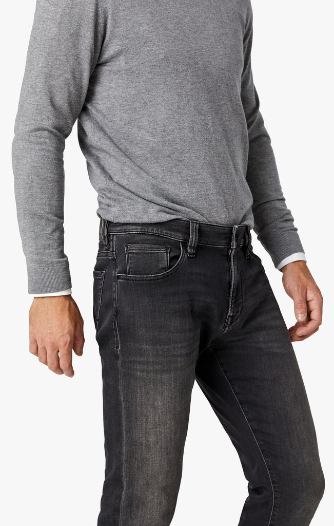 Courage Straight Leg Jeans in Mid Smoke Smart Casual