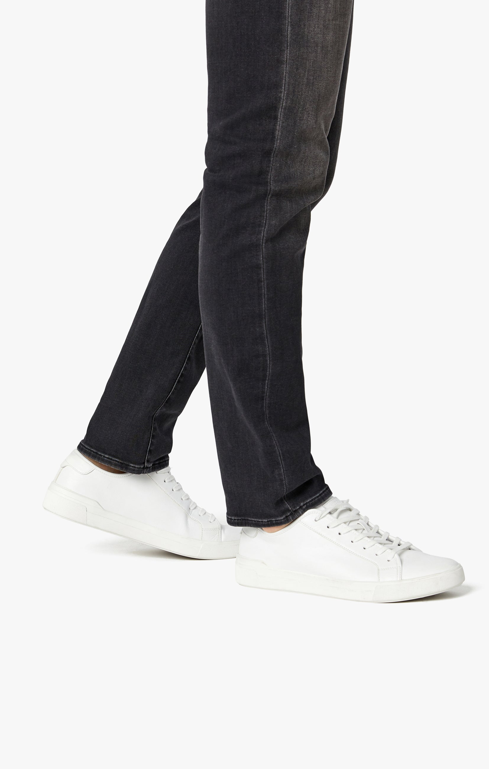 Courage Straight Leg Jeans in Mid Smoke Smart Casual Image 7