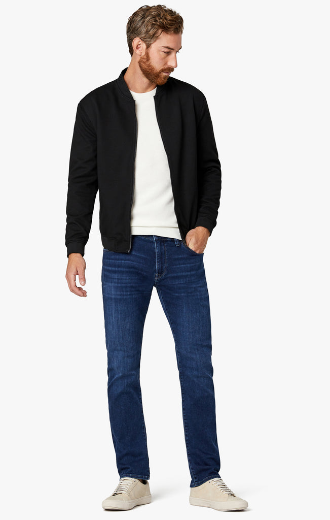 Courage Straight Leg Jeans in Dark Brushed Smart Casual