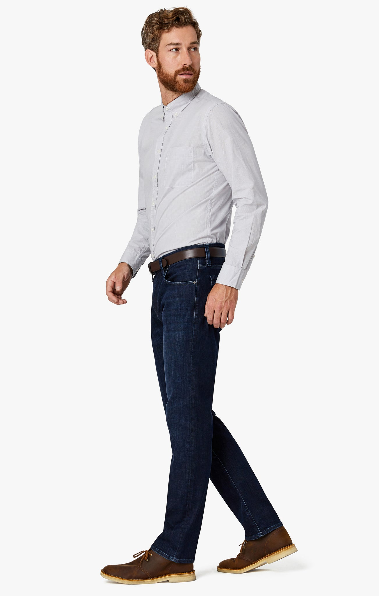 Courage Straight Leg Jeans in Deep Urban