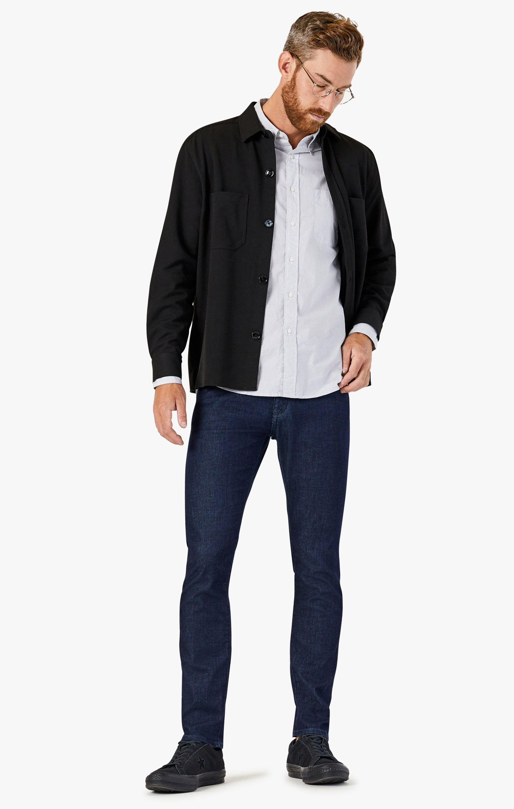 Courage Straight Leg Jeans In Rinse Sporty Image 1