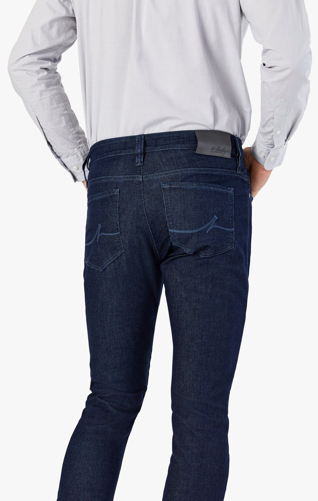 Courage Straight Leg Jeans In Rinse Sporty